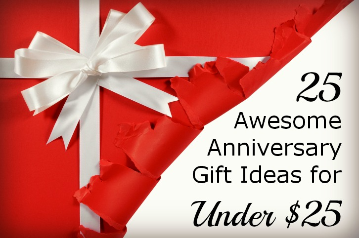 4th Wedding Anniversary Gifts For Husband: 25 Awesome Anniversary Gift Ideas For Under $25