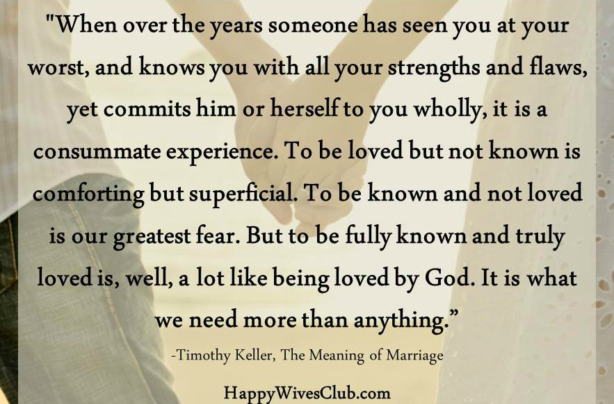 Timothy Keller Quotes Brilliant The Meaning Of Marriagetimothy Keller  Happy Wives Club