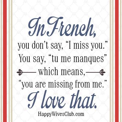 Superb Happy Marriage Quotes Archives   Page 3 Of 8   Happy Wives ... Image  Gallery I Miss You French