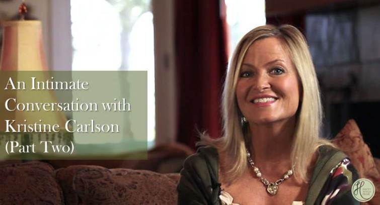 Intimate Conversation with Kristine Carlson