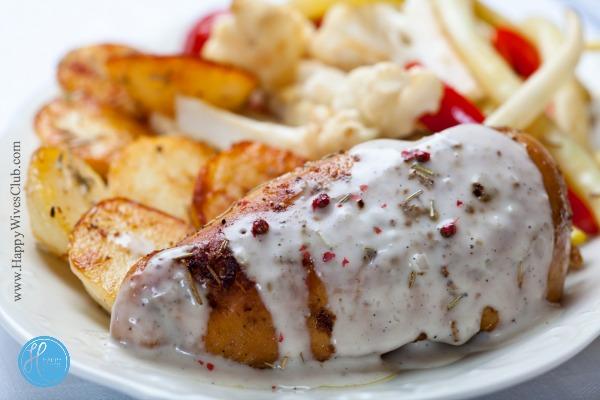 Chicken with Butter Cream Sauce