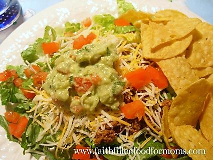 Healthy Homemade Guacamole