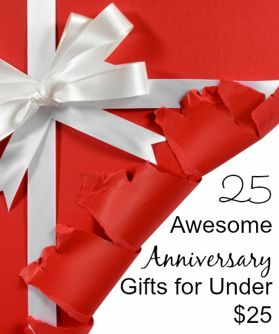 25 Awesome Anniversary Gift Ideas for Under $25 | Happy Wives Club
