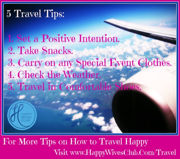 5 Travel Tips from the Happy Wives Club
