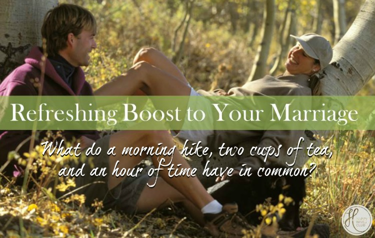 Marriage Mondays: A Refreshing Boost to Your Marriage {& Link Up}