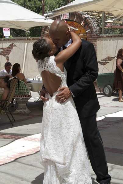 Keith and Fawn Weaver Dancing at Vow Renewal