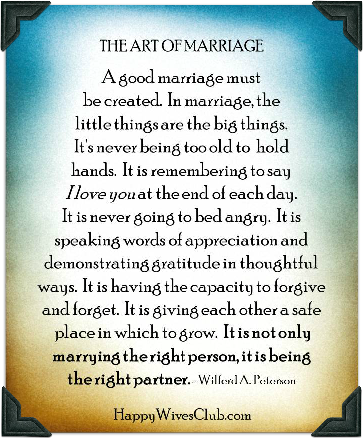 the art of a beautiful marriage happy wives club