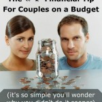 The #1 Financial Tip For Couples on a Budget