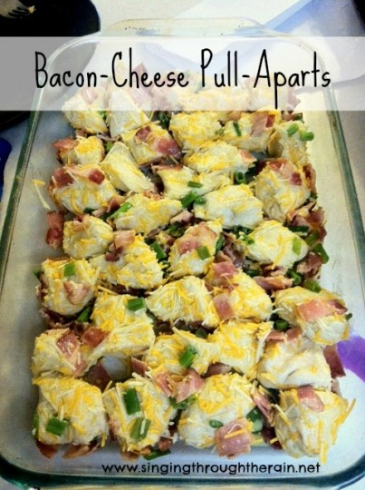 Egg, Bacon And Sausage Pull Aparts Recipes — Dishmaps
