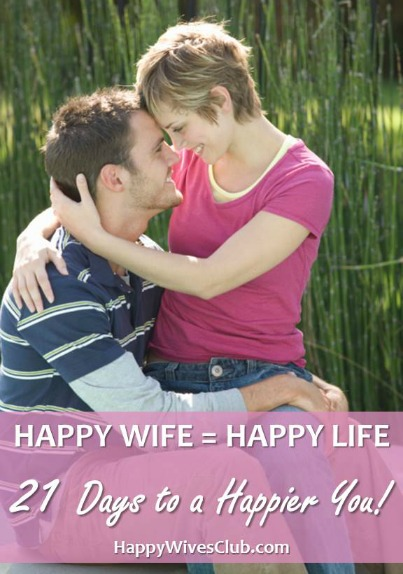 Happy Wife = Happy Life {The 21-Day Challenge}