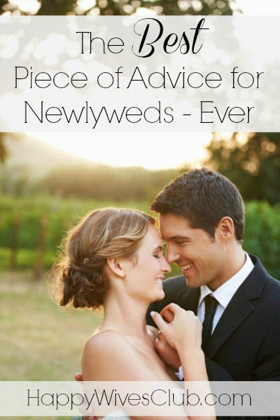 Advice for a newlywed wife 5