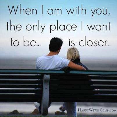 I Am Happy With You Quotes When I am with you