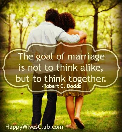 goal of marriage