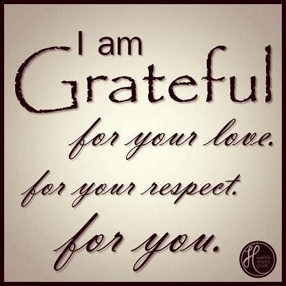 I Am Grateful Quotes I Am Grateful
