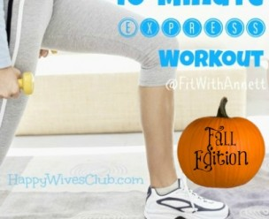 Fall 10-minute workout