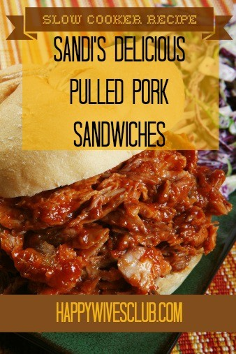 Sandi's Delicious Pulled Pork Sandwiches