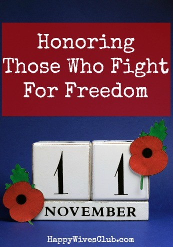 November 11 – Honoring Those Who Fight for Freedom