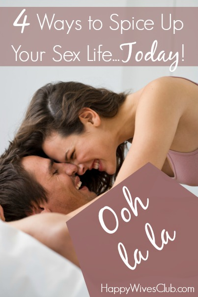 Liven up your sex life