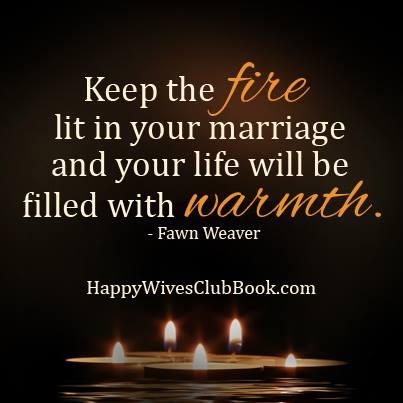 keep the fire lit