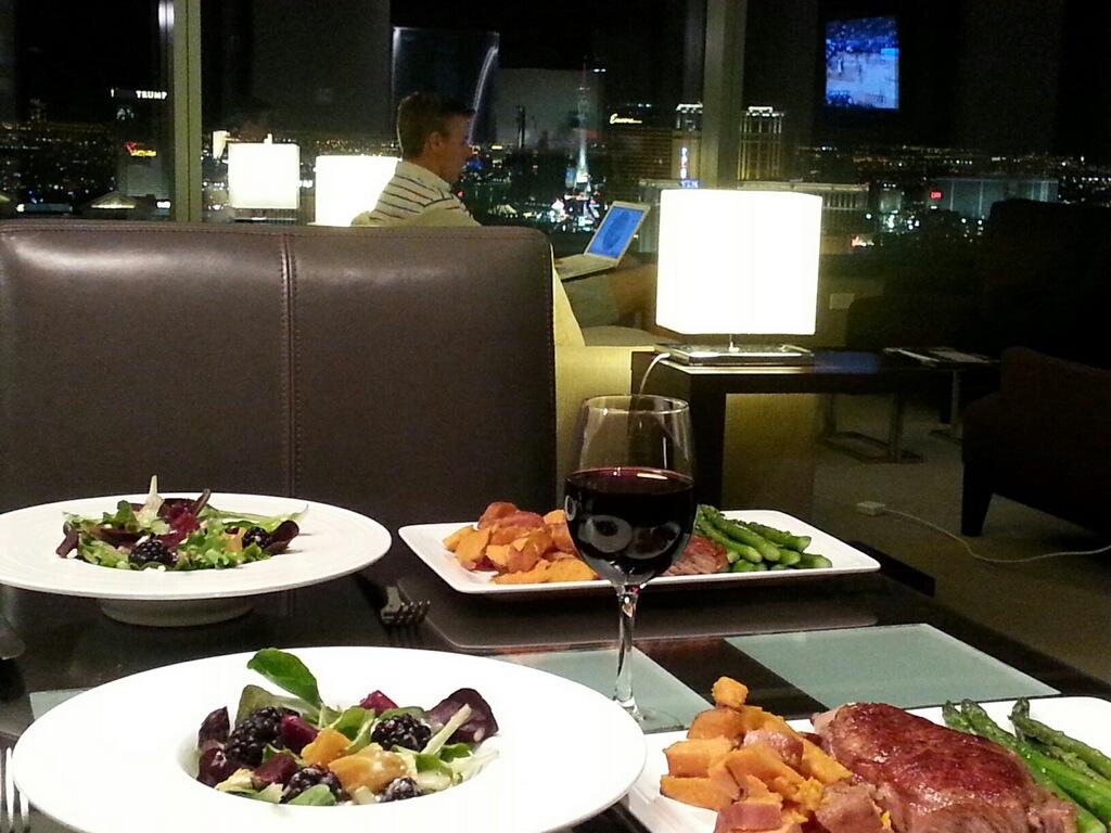 dinner at Vdara