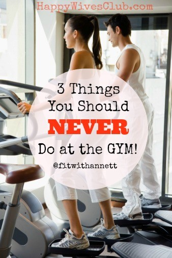3 Things You Should Never Do at the Gym