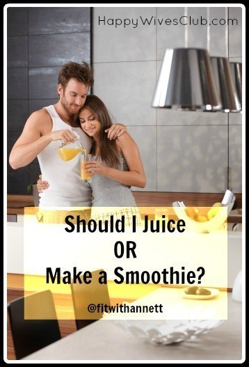 Should I Juice or Make a Smoothie?