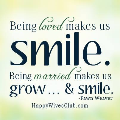 Being loved makes us smile