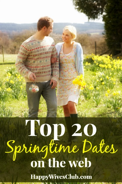 Top 20 Springtime Dates on the Web