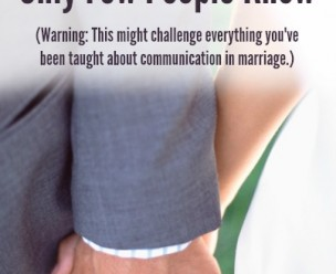 The One Marriage Tip Only Few People Know