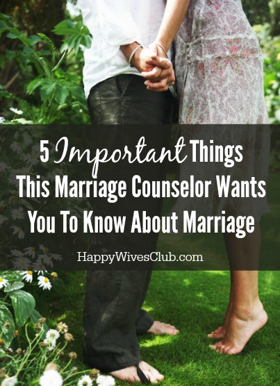 5 Things I Learned About Marriage From Being a Marriage Counselor