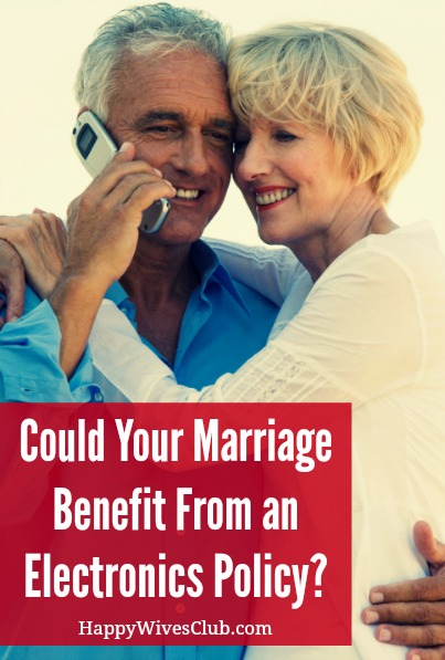 Could Your Marriage Benefit From an Electronics Policy