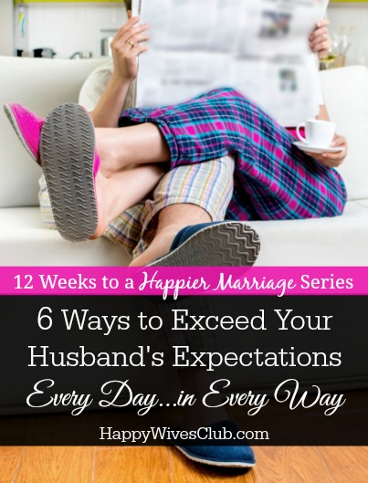 Exceed your spouses expectations