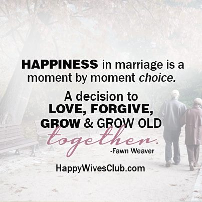 Happiness in Marriage | Happy Wives Club