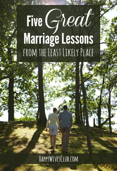 Great Marriage Lessons