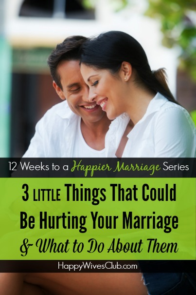 hurting your marriage