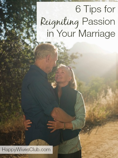 passion in your marriage