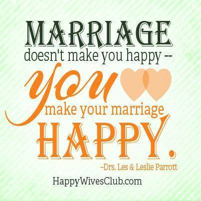 Make Your Marriage Happy