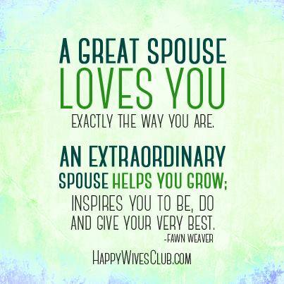 An Extraordinary Spouse
