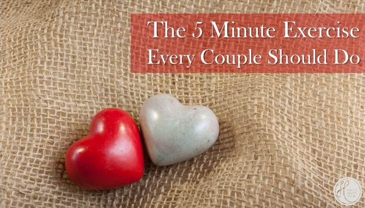 The 5 Minute Exercise Every Couple Should Do
