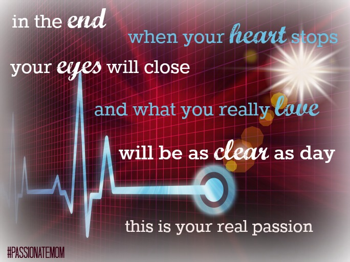 Marriage Mondays: What is Your Real Passion? {& Link Up}