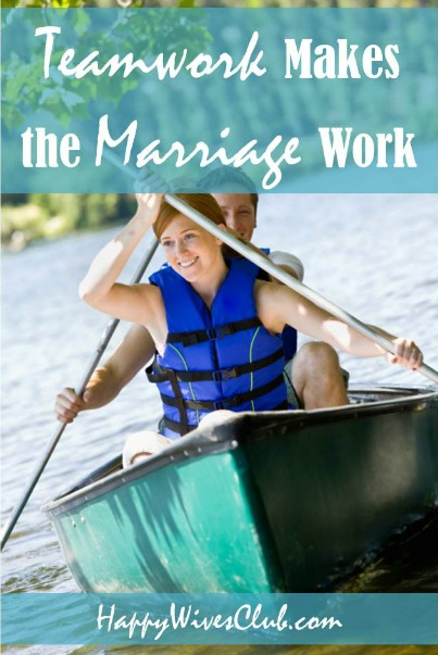 Teamwork Makes the Marriage Work