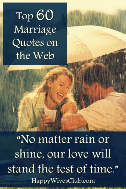 Top 60 Marriage Quotes on the Web
