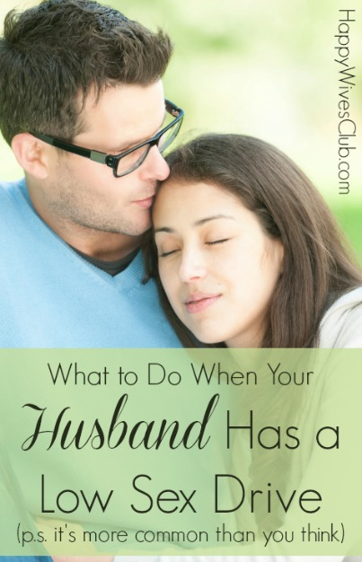 What to Do When Your Husband Has a Low Sex Drive