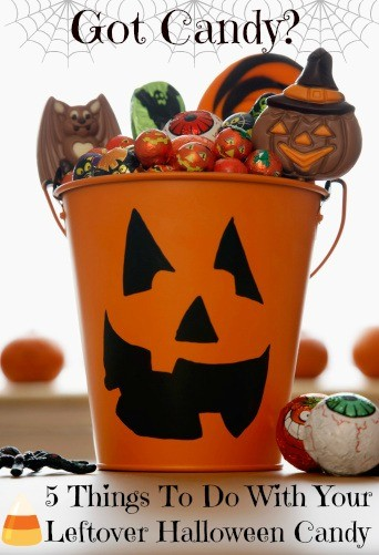 5 Things To Do With Your Leftover Halloween Candy