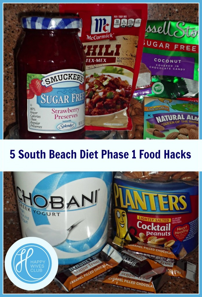 south beach diet phase 1 sweets