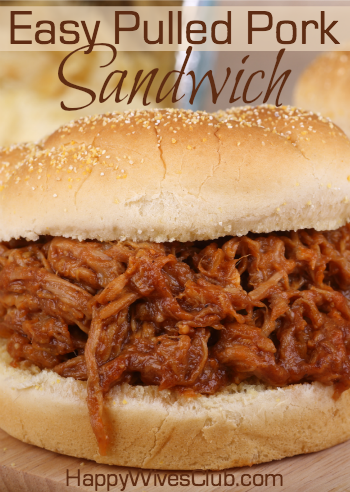 Easy Pulled Pork Sandwich